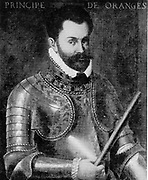 William I, Prince of Orange (24 April 1533 – 10 July 1584), also widely known as William the Silent (Dutch: Willem de Zwijger), or simply William of Orange (Dutch: Willem van Oranje), was the main leader of the Dutch revolt against the Spanish that set off the Eighty Years' War and resulted in the formal independence of the United Provinces in 1648. He was born in the House of Nassau as Count of Nassau-Dillenburg. He became Prince of Orange in 1544 and is thereby the founder of the branch House of Orange-Nassau.  Attributed to F. Pourbus.