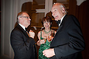 LORD JEFFREY ARCHER; KATHY LETTE; PETER SNOW, 80th anniversary gala dinner for the FoylesÕ Literary Lunch. Ballroom. Grosvenor House Hotel. Park Lane. London. 21 October 2010. -DO NOT ARCHIVE-© Copyright Photograph by Dafydd Jones. 248 Clapham Rd. London SW9 0PZ. Tel 0207 820 0771. www.dafjones.com.<br /> LORD JEFFREY ARCHER; KATHY LETTE; PETER SNOW, 80th anniversary gala dinner for the Foyles' Literary Lunch. Ballroom. Grosvenor House Hotel. Park Lane. London. 21 October 2010. -DO NOT ARCHIVE-© Copyright Photograph by Dafydd Jones. 248 Clapham Rd. London SW9 0PZ. Tel 0207 820 0771. www.dafjones.com.