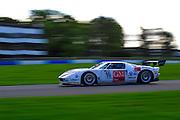 2012 FIA GT1 World Championship.Donington Park, Leicestershire, UK.27th - 30th September 2012.Laurent Groppi / Benjamin Lariche, Ford GT..World Copyright: Jamey Price/LAT Photographic.ref: Digital Image Donington_FIAGT1-18987