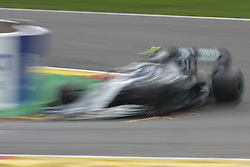 September 1, 2019, Spa Francorchamps, Belgium: Mercedes Driver LEWIS HAMILTON (GBR) won the race of the Formula one Johnnie Walker Belgian Grand Prix at the SPA Francorchamps circuit - Belgium..Charles Leclerc wins his first Formula One Grand Prix (Credit Image: © Pierre Stevenin/ZUMA Wire)
