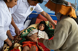 After Fernando Quispe Melo fell and injured his leg, his family sought help from a traditional healer. When the teen spiked a fever, his mother traveled with him to Hospital Regional Cusco, where doctors saved his life. He would spend several weeks in the sprawling public hospital more than 100 kilometers from his home.