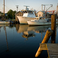 Belford Seafood Co-Operative New Jersey Stock Images