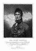 Robert Thomas Wilson (1777-1849) English soldier and military writer, 1817. Dismissed from army for action against the mob at the funeral of Queen Caroline, 1821. Reinstated 1830. MP for Southwark 1818: General 1840: Governor of Gibraltar 1841.