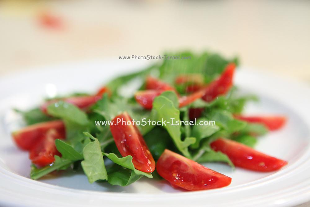 Roquette and tomato Salad