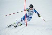 GSC Tecnica Cup Slalom first run February 1, 2014.  ©2104 Karen Bobotas Photographer