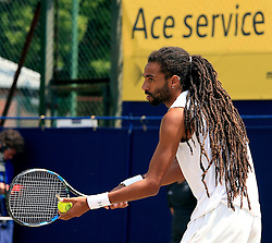 Dustin Brown of Germany serves - Mandatory by-line: Matt McNulty/JMP - 05/06/2016 - TENNIS - Northern Tennis Club - Manchester, United Kingdom - AEGON Manchester Trophy