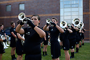 Shadow Drum and Bugle Corps performs at Fort Atkinson High School in Fort Atkinson, Wisconsin on July 13, 2017. <br /> <br /> Beth Skogen Photography - www.bethskogen.com