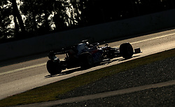 Torro Rosso's Daniil Kvyat during day one of pre-season testing at the Circuit de Barcelona-Catalunya.