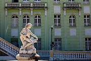 Vitoria_ES, Brasil...Chafariz do Palacio Anchieta localizado na regiao da Cidade Alta...A fountain of Palacio Anchieta located in the Cidade Alta region...Foto: LEO DRUMOND / NITRO