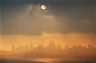 Foggy day in San  Francisco
