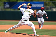 28 May 2016: Cal Poly Pomona's Ryan Alsworth. The Cal Poly Pomona Broncos played the Southern Indiana Eagles in Game 2 of the 2016 NCAA Division II College World Series  at Coleman Field at the USA Baseball National Training Complex in Cary, North Carolina. Cal Poly Pomona won the game 2-1 in ten innings.