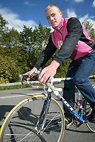 Bærum 18. spetember 2002. Harald Andrè Moen er tatt opp på landslaget i sykkel.   <br /> <br /> Foto: Andreas Fadum, Digitalsport.