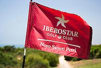 SANCTI PETRI-SPANJE - IBEROSTAR  Real Novo Sancti Petri Golf Club. Holevlag    COPYRIGHT KOEN SUYK