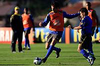 20090604: TERESOPOLIS, BRAZIL - Brazil National Team preparing match against Uruguay. In picture: Kaka and Josue. PHOTO: CITYFILES
