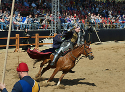 April 30, 2017 - Moscow, Russia - 30.04.17 Moscow Kolomenskoye St George knights tournament (Credit Image: © Russian Look via ZUMA Wire)