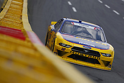May 26, 2018 - Concord, North Carolina, United States of America - Austin Cindric (12) brings his car through the turns during the Alsco 300 at Charlotte Motor Speedway in Concord, North Carolina. (Credit Image: © Chris Owens Asp Inc/ASP via ZUMA Wire)