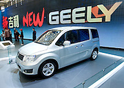 China's Geely automaker displays its Gleagle GV515-V car during Shanghai Motor Show, in Shanghai, China, on April 20, 2009. Shanghai auto show opened Monday for the press and will be open April 24-28 for the public. China is the only major auto market still growing despite the global economic slowdown. U.S. and global auto makers see China as the place where they can find the sales they desperately lack in their home market. Chinese automakers see the opportunity to assess themselves as major players in the world market. Photo by Lucas Schifres/Pictobank