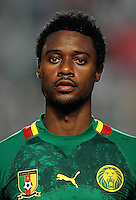 Football Fifa Brazil 2014 World Cup Matchs-Qualifier / Africa - Play-Off / <br /> Tunisia vs Cameroon 0-0  ( Olympic Stadium of Rades , Tunis-Rades , Tunisia ) <br /> Nicolas NKOULOU of Cameroon , during the match between Tunisia and Cameroon