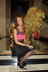 HEATHER KERZNER at the Warner Music Brit Party held at the Freemason's Hall, 60 Great Queen Street, London on 25th February 2015.