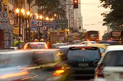Trafego na Avenida Sao Joao, Sao Paulo/ Transit on Sao Joao Avenue, Sao Paulo, Brazil