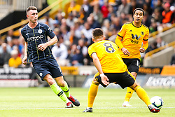 Aymeric Laporte of Manchester City passes the ball - Mandatory by-line: Robbie Stephenson/JMP - 25/08/2018 - FOOTBALL - Molineux - Wolverhampton, England - Wolverhampton Wanderers v Manchester City - Premier League