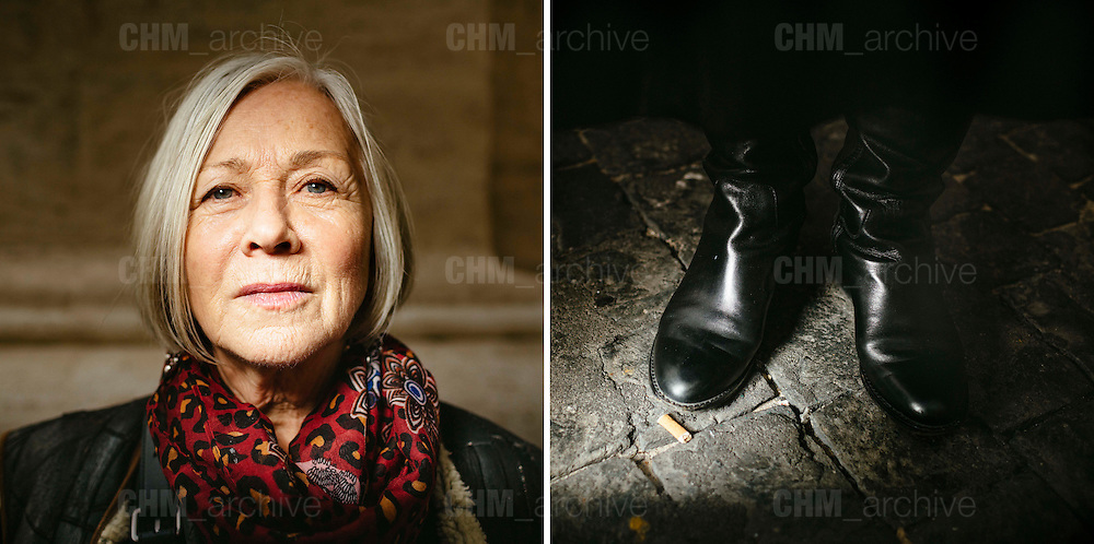 Judy, 72 years old. Toronto, Canada. <br /> Rome 09 December 2015. Christian Mantuano / OneShot
