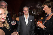 Pedro Girao of Christies and Duncan Macintyre of Lombard Odier host the last dinner at the Old Annabels. 44 Berkeley Sq. London. 15 November 2018