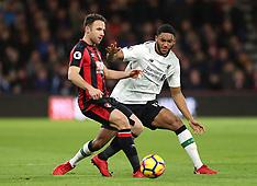 AFC Bournemouth v Liverpool - 17 Dec 2017