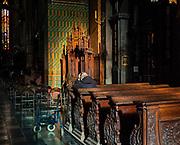 Wnętrze kościoła św. Franciszka z Asyżu przy ulicy Franciszkańskiej 2 w Krakowie, Polska<br /> Interior of the church of St. Francis of Assisi at Franciszkańska Street 2 in Cracow, Poland
