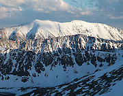 Shadow and light play across the northern slopes of Mount Lincoln and Mount Cameron, Mosquito Range, Colorado.