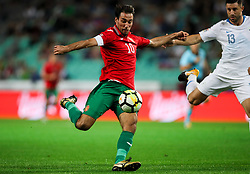 Ivelin Popov of Bulgaria during football match between National Teams of Slovenia and Bulgaria in Final Tournament of UEFA Nations League 2019, on September 6, 2018 in SRC Stozice, Ljubljana, Slovenia. Photo by Morgan Kristan / Sportida