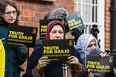 2019-02-02 3rd anniversary vigil for Giulio Regeni