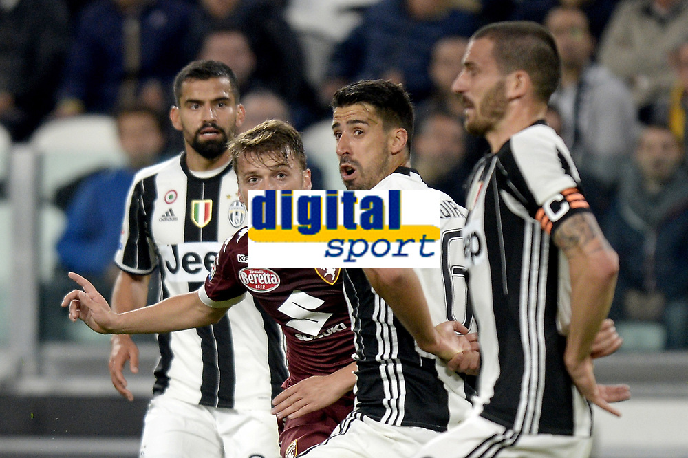 Adem Ljajic Torino, Sami Khedira Juventus <br /> Torino 06-05-2017, Juventus Stadium, Football Calcio 2016/2017 Serie A, Juventus - Torino, Foto Filippo Alfero/Insidefoto
