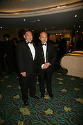 Peter Chow and Jimmy Choo, Eleventh Annual Gala dinner for the Asian Business Awards 2007. Hosted by Eatern Eye and Ethnic Media Group. Hilton Hotel. Park Lane. 8 May 2007.  -DO NOT ARCHIVE-© Copyright Photograph by Dafydd Jones. 248 Clapham Rd. London SW9 0PZ. Tel 0207 820 0771. www.dafjones.com.