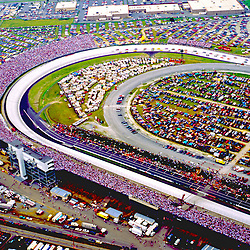 Aerial view of Dover International Speedway as seen in 1997