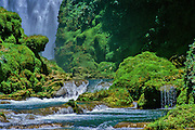 Pullhapanzak Falls, Honduras.
