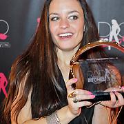 NLD/Amsterdam/20111207- Radiobitches Awards 2011, winnares talentbitch Award 2011 Eva Koreman