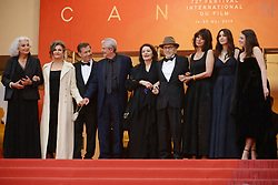 May 18, 2019 - Cannes, France - CANNES, FRANCE - MAY 18: (3L-R) Antoine Sire, Claude Lelouch, Anouk Aimee, Jean-Louis Trintignant, Marianne Denicourt, Monica Bellucci and Tess Lauvergne attend the screening of ''Les Plus Belles Annees D'Une Vie'' during the 72nd annual Cannes Film Festival on May 18, 2019 in Cannes, France. (Credit Image: © Frederick InjimbertZUMA Wire)