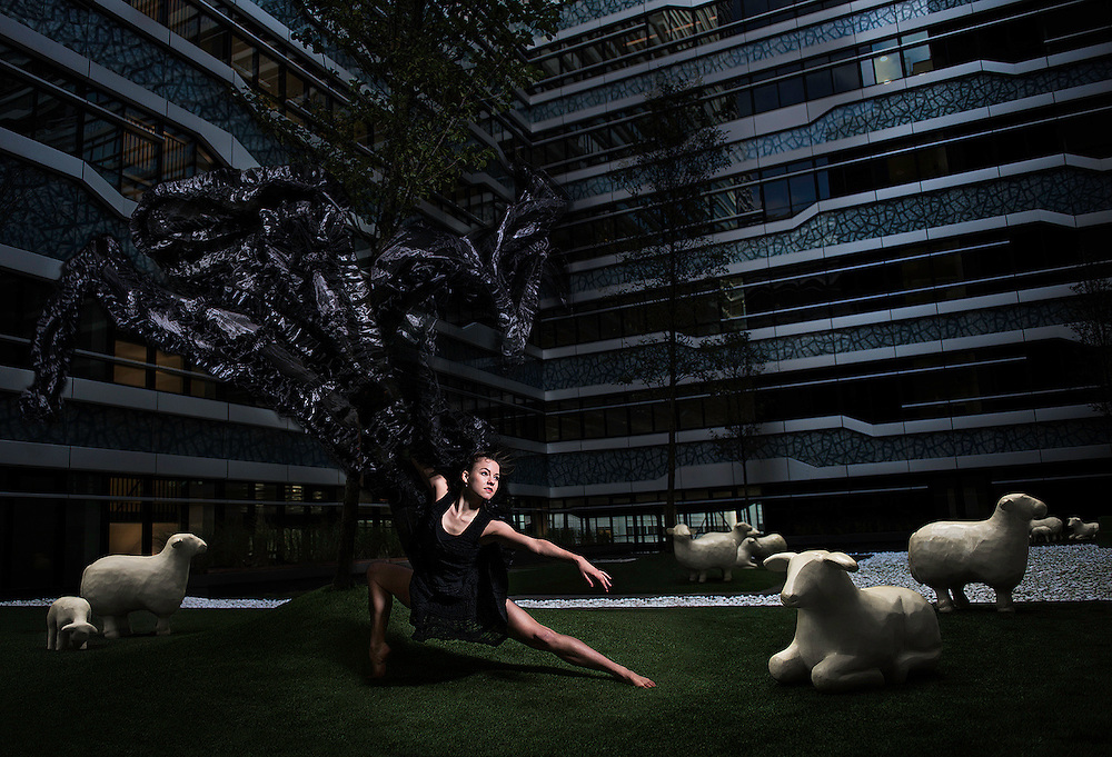Dans in Den Haag   New Babylon   personal project