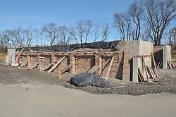 Milford Salt Shed and Stores Building Construction Progress Photography. Site vist 3 of once per month Cronological Documentation. 30 December 2009