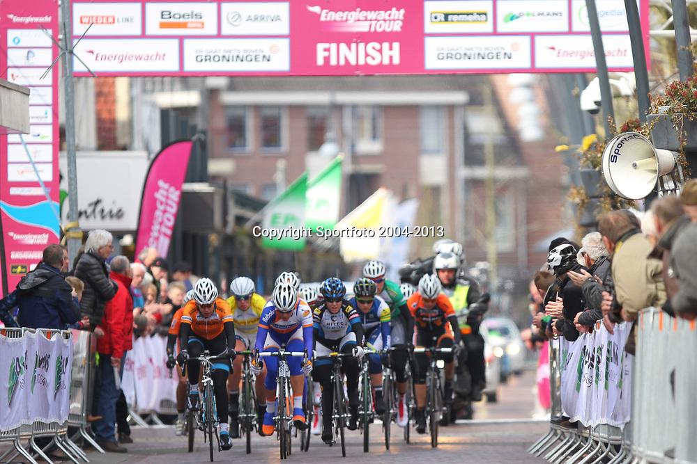 Energiewachttour Stage 2 Pekela-Veendam finish passage