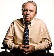 Dr. Noel Tichy, professor of organizational behavior and human resource management at the Ross School of Business at the University of Michigan. Noel Tichy, management consultant. Ross School of Business, University of Michigan.  Photographed by Brian Smale in 2007 for Fortune Magazine.