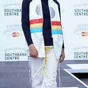 London,England,UK: 23th July 2016: Hackney-based charity Fashion Awareness Direct (FAD) amongs with designer Hana Minowa ,David Bennie showcases at the Fashion Undressed with MasterCard at the Royal Festival Hall, Southbank, London,UK. Photo by See Li