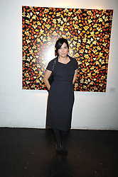 SHARLEEN SPITERI at an exhibition entitled 'Cut Flowers' by Robin Derrick held at 70a Silverthorne Road, London SW8 on 8th October 2008.