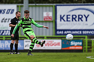 Forest Green Rovers Charlie Cooper(20) takes a free kick during the Vanarama National League match between Forest Green Rovers and Chester FC at the New Lawn, Forest Green, United Kingdom on 14 April 2017. Photo by Shane Healey.