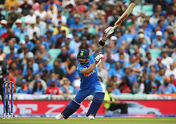 India's Virat Kohli during the ICC Cricket World Cup Warm up match at The Oval, London.