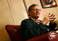 Ohio State University President E. Gordon Gee discusses his return to the school.(Will Shilling/Alive)
