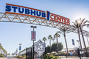 Stubhub Center Signage and Entrance