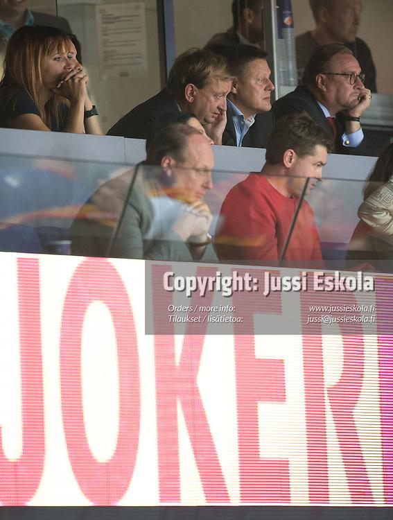 Hjallis Harkimo. Jokerit - Dinamo Minsk. 4.9.2014. Photo: Jussi Eskola
