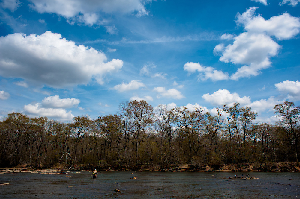 April 07, 2013; Bostwick, GA, USA;  National forest on Chattahoochee River near Atlanta. Photo by Kevin Liles / kevindliles.com